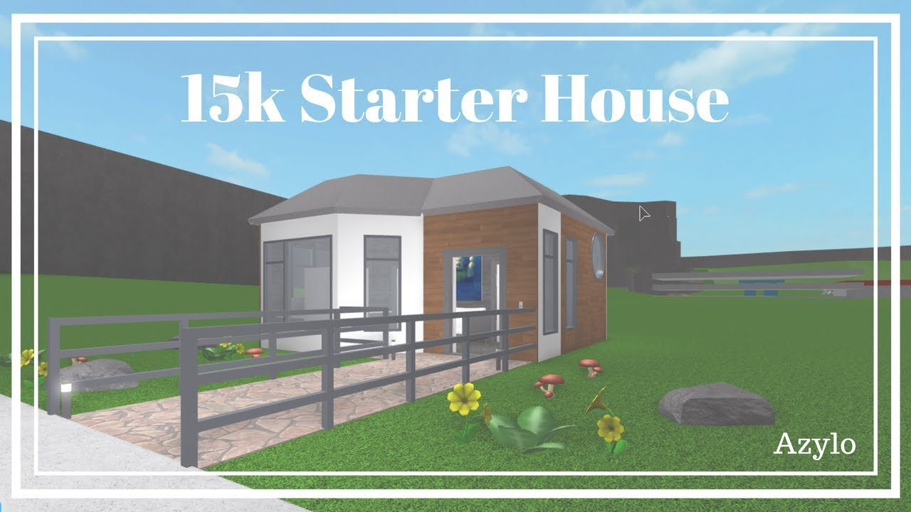 Roblox Bloxburg 15k Starter House Youtube