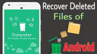 How To Recover Deleted Files in Android - Dumpster app screenshot 4