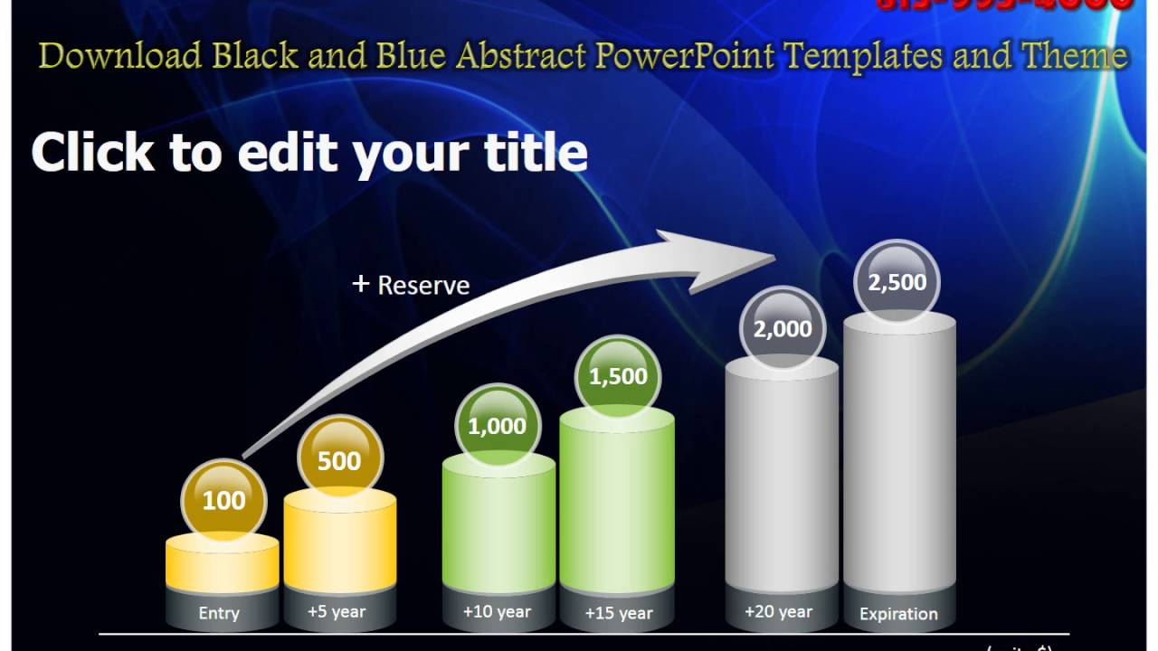 Download black and blue abstract powerpoint templates and theme download black and blue abstract powerpoint templates and theme youtube toneelgroepblik Images