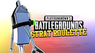 BATTLEGROUNDS Strat Roulette! - Splinter Cell Challenge PART 2! (PUBG)