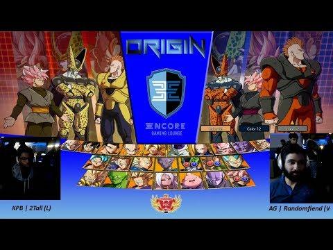ORIGIN - DBFZ  -  KPB  2tall Vs. AG   Randomfiend  - Grand Finals