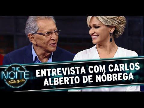 The Noite (23/10/14) - Entrevista Carlos Alberto E Andréa De Nóbrega