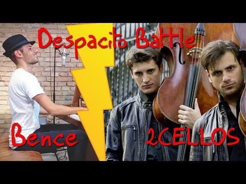 Despacito cover Battle, Peter Bence vs 2CELLOS
