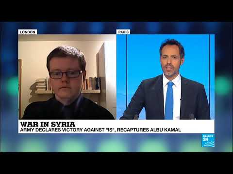 Kyle Orton discusses the War in Syria and Assad on France 24