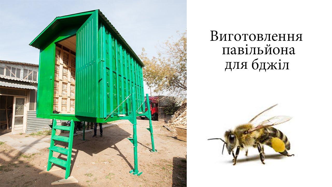 Павильон для пчел своими руками чертежи фото 729