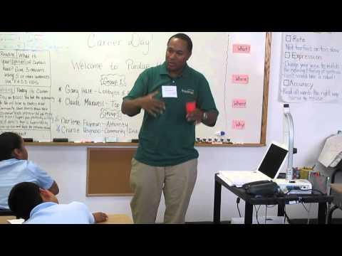 Career Day at Bronx Charter School for Children