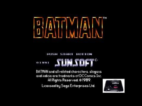 Batman [OST] - Gotham City Streets [Sega Genesis Music VA6]