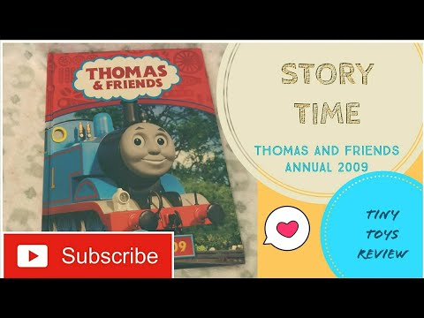STORY TIME for KIDS Thomas and Friends Annual 2009 Book