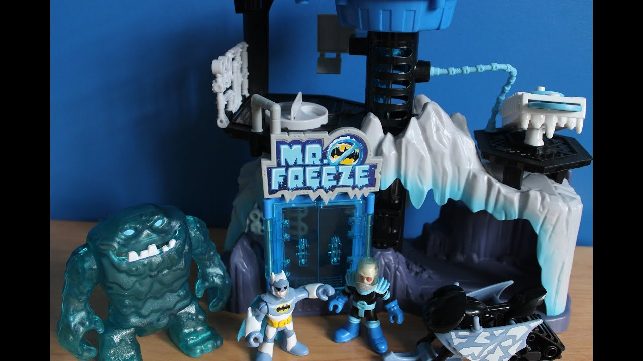 imaginext Mr freeze gift set - YouTube