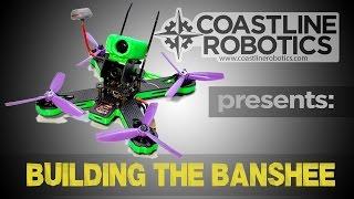 The Banshee 210 FPV racing drone introduction - Coastline Robotics