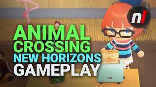 NEW Animal Crossing: New Horizons Gameplay | Nintendo Switch