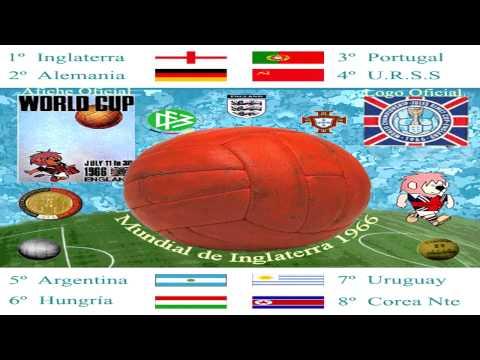 Mundial England 1966 World Cup  Willy  song - Composición Gráfica