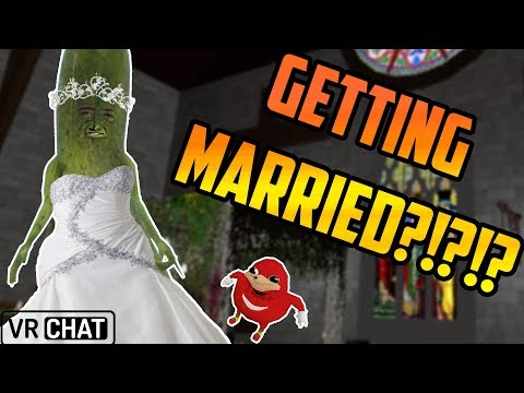 Marrying a PICKLE in VRChat?! (Mr. Wobbles Highlights #2)