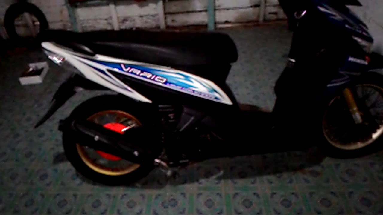 Modif Minimalis Vario 110 Cw YouTube