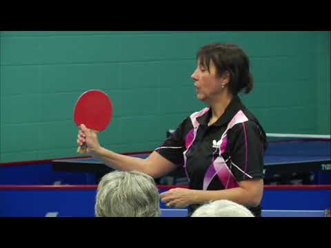 Racket Positions - Table Tennis Master Class With Stéphane And Julia Charbonneau