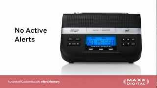 Customizing Alerts for Your Maxx Digital Automatic Alert Radio