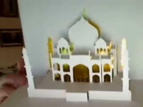 Taj Mahal Popup - YouTube