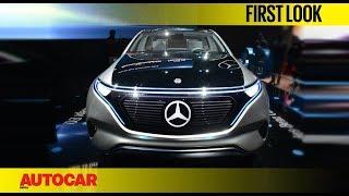 Mercedes-Benz EQ Concept | First Look | Auto Expo 2018 | Autocar India