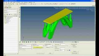 Viewing the Topology Optimization results in HyperView 11.0