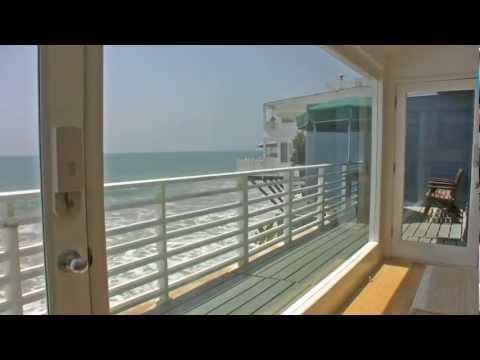 "Malibu ""Walls Of Glass"" Ocean Front Vacation Rental"