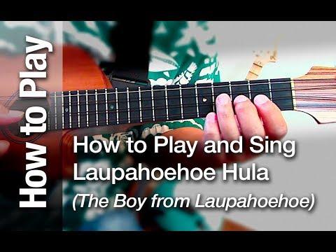 Laupahoehoe Hula The Boy From Laupahoehoe On The Ukulele Youtube