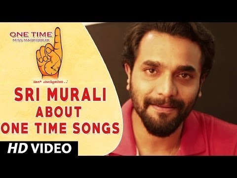 One Time Kannada Movie || Sri Murali Wishing One Time Movie team || Tejus, Neha Saxena