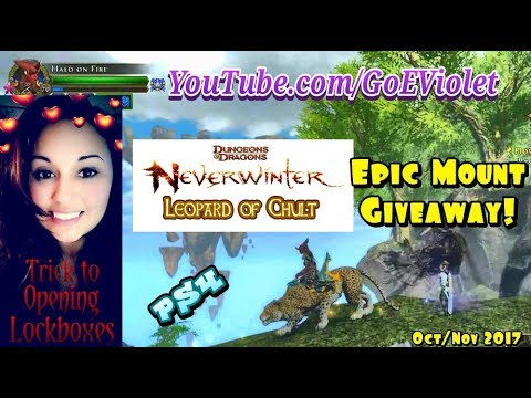 Neverwinter: Trick to opening Lockboxes & a Giveaway!