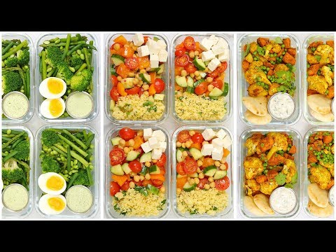 Vegetarian Meal Prep Recipes | Back to School + Healthy + Quick + Easy