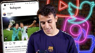 📱🔥 PLAYERS vs SOCIAL MEDIA: ERIC GARCÍA on MAN CITY, ANSU FATI, FAMILY...