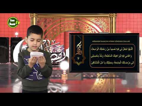 Mübarək #Ramazan2020 ayının 9-cu gününün – #DUASI Zeynəb&Mehdi