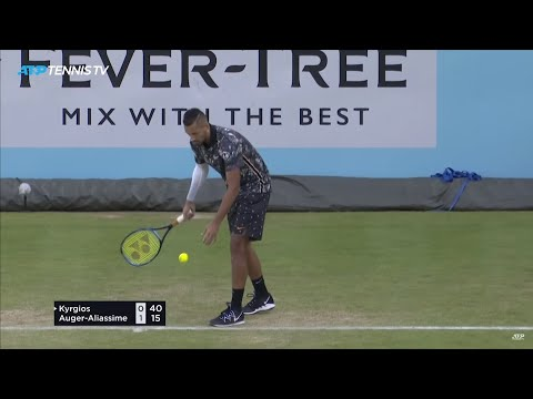 Two Nick Kyrgios Matches in One Day: Best Moments & Great Shots | Queen's 2019 from YouTube · Duration:  3 minutes 37 seconds