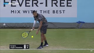 Two Nick Kyrgios Matches in One Day: Best Moments & Great Shots | Queen's 2019