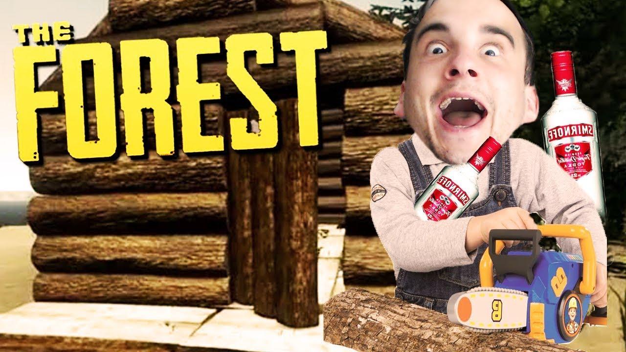 NAJ**ANY DOBRODZIEJ BUDUJE PAŁAC! | The Forest [#9] (With: Dobrodziej)