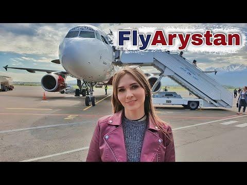 FlyArystan   Перелёт из Караганды в Алматы   Обзор FlyArystan