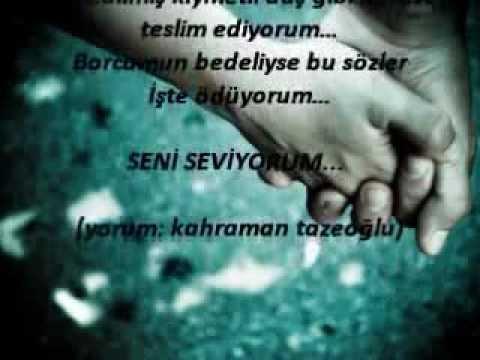 Kahraman Tazeoğlu - Seviyorum Seni - BKRCDM