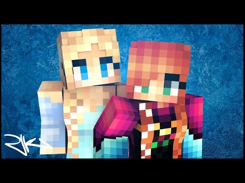 """Roast """"Let It Glow"""" - A Minecraft Parody Of Disney's Frozen Let It Go (Music Video)"""