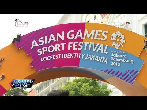 Asian Games Sport Festival di Jakarta