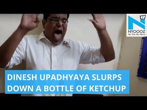 Mumbai Man Creates World Record by Drinking Ketchup in 25.37 Sec   World Record   NYOOOZ TV