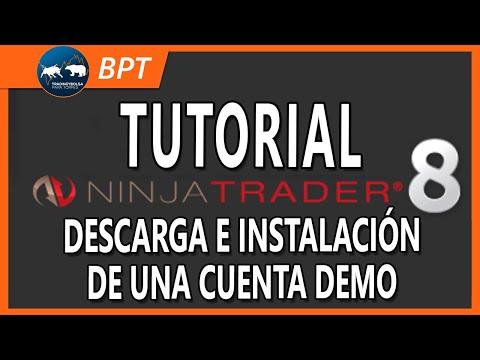 Cómo tener cuentas demo con Ninjatrader 8