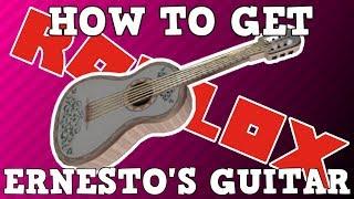 Comment obtenir la guitare d'Ernesto De La Cruz (fr) Événement Roblox Coco Sponsor