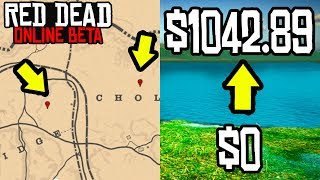 THIS ONE SECRET WILL MAKE YOU $1000 in Red Dead Online! RDR2 Online Money Making Guide!