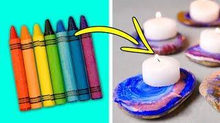 15 AWESOME DIY CRAYON IDEAS