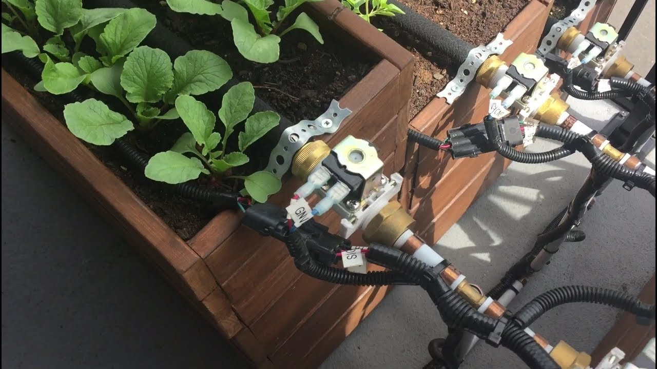 Arduino automatic garden watering system youtube