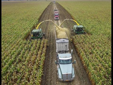 2 Big John Deere Self Propelled Forage Harvesters