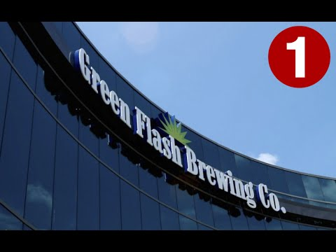 California beer reviews: Green flash brewery tour (part 1)
