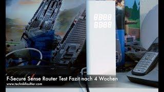F-Secure Sense Router Test Fazit nach 4 Wochen