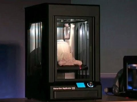0 - MakerBot präsentiert bei CES 2014 drei neue 3D-Drucker