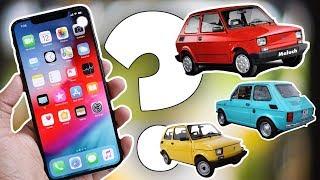 Co łączy iPhone'a XS z Maluchem❓ | AppleNaYouTube