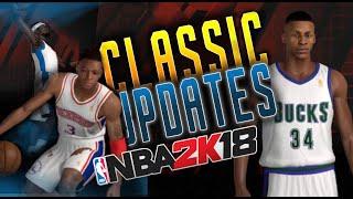 New Classic Teams!  Retro Base Roster -  NBA 2K18 PC mod by MauMau78