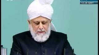 Freitagsansprache vom 4 November 2011 - Islam Ahmadiyya